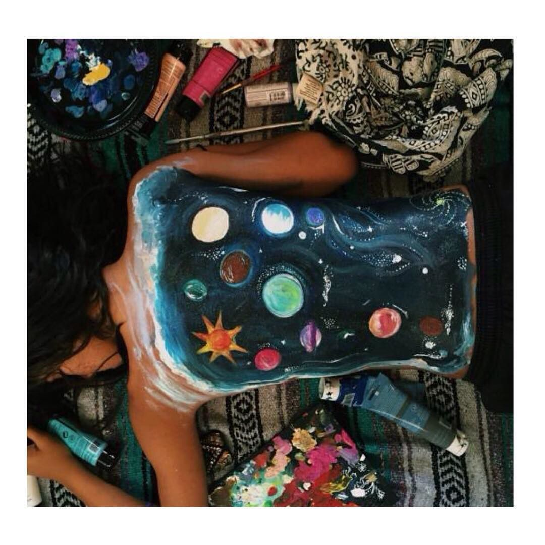 Pinturas Body Paint Provocative Planet Pics Please Tumblr Planetas
