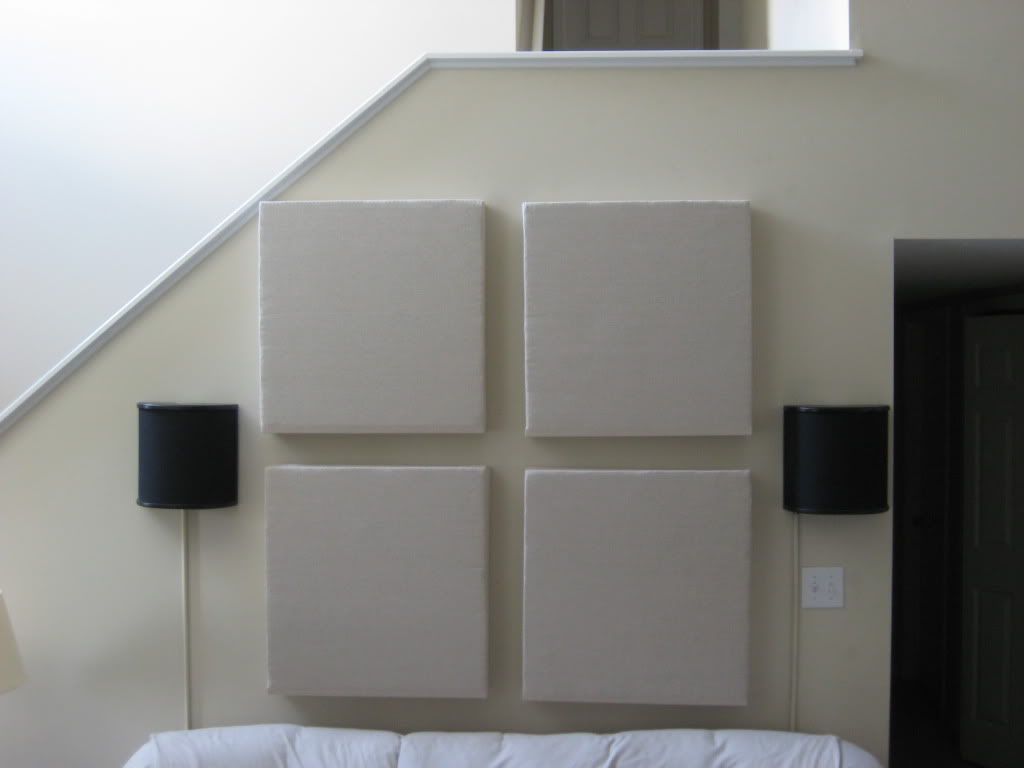 Diy Soundproof Room Divider Diy Acoustic Panels Tutorial I 39d Use Old T Shirts For The