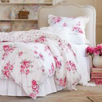 Simply Shabby Chic Sunbleached Floral Duvet Set, Pink ...
