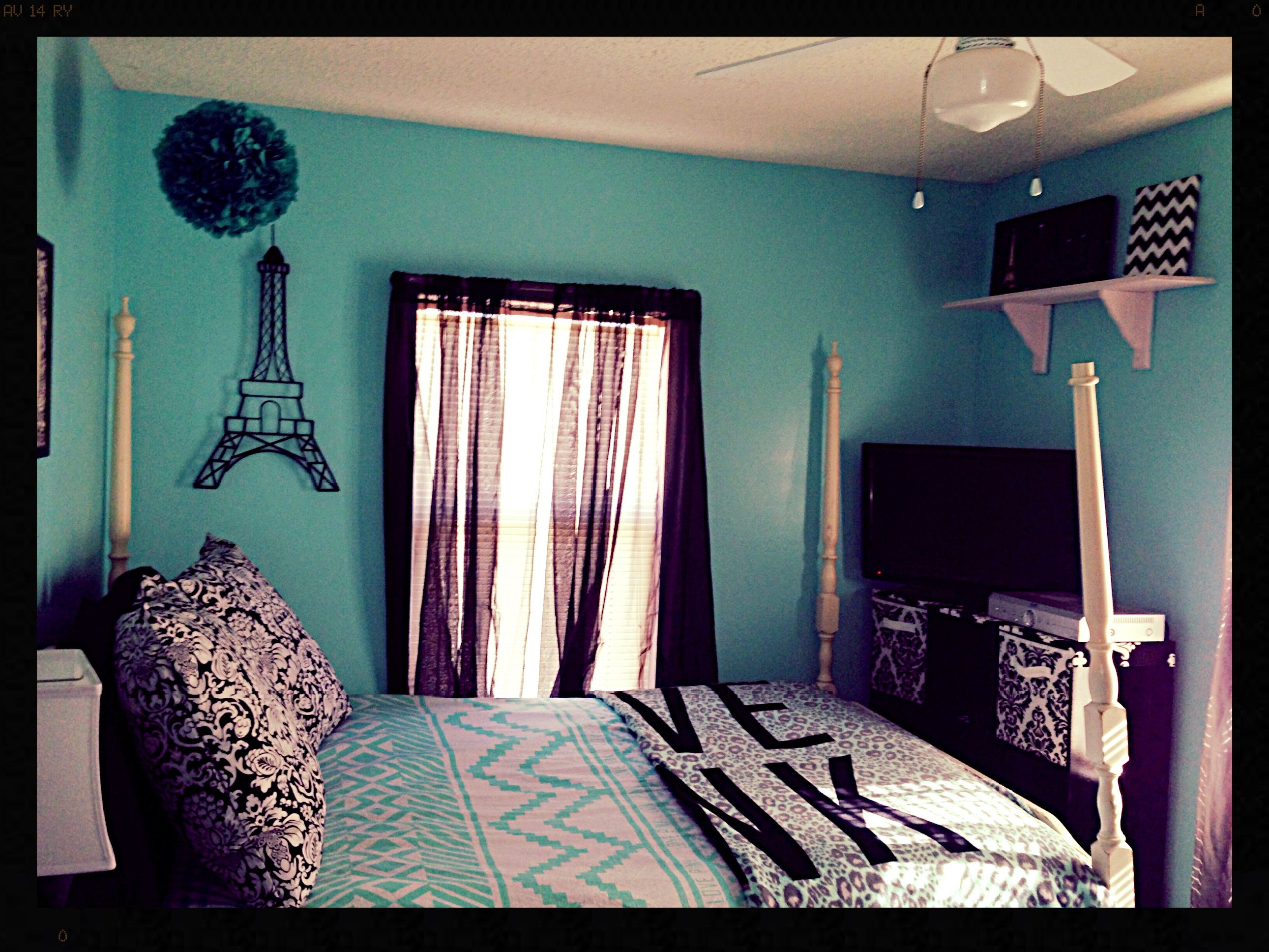 Pictures Of Blue Bedrooms Tiffany Blue Bedroom Chevron Room Pinterest Tiffany