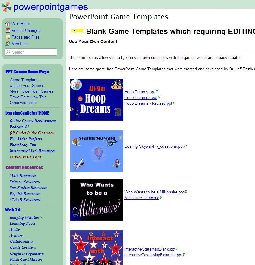 Power Point templates to create Jeopardy, Family Feud, Who Wants - family feud power point template