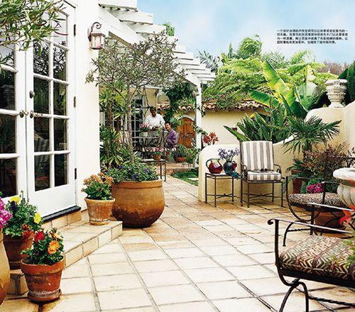 Mediterranean Garden Plants Mediterranean Style Garden