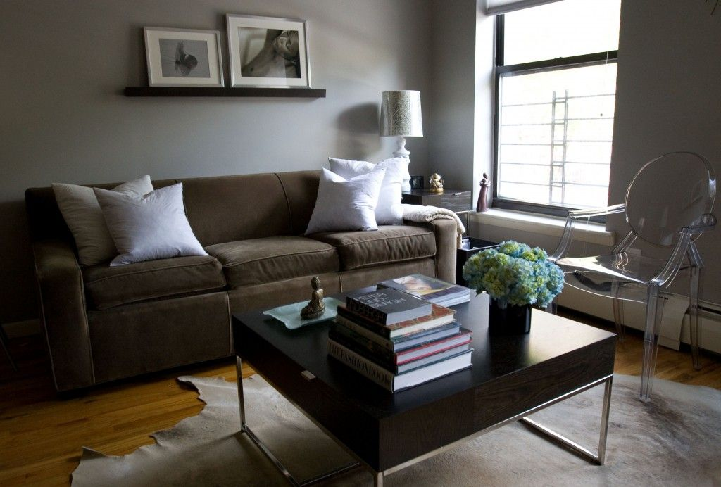 My husband is gonna kill me but I think Iu0027m going to paint my - gray and beige living room