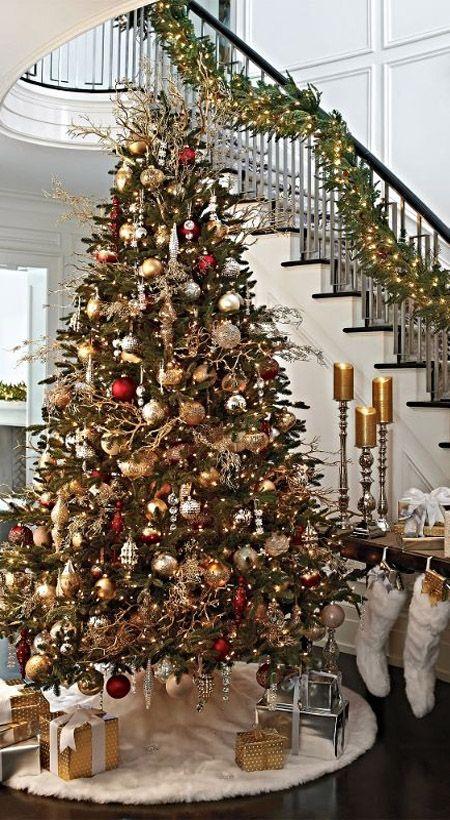 Most Beautiful Christmas Tree Decorations Ideas Beautiful - beautiful decorated christmas trees