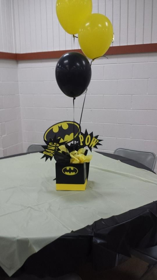 Batman Centerpiece For Josie Pinterest Batman