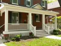 front porch railing ideas - Google Search | Porch Railings ...
