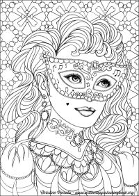 Free Coloring Page From Adult Coloring Worldwide. Art by ...