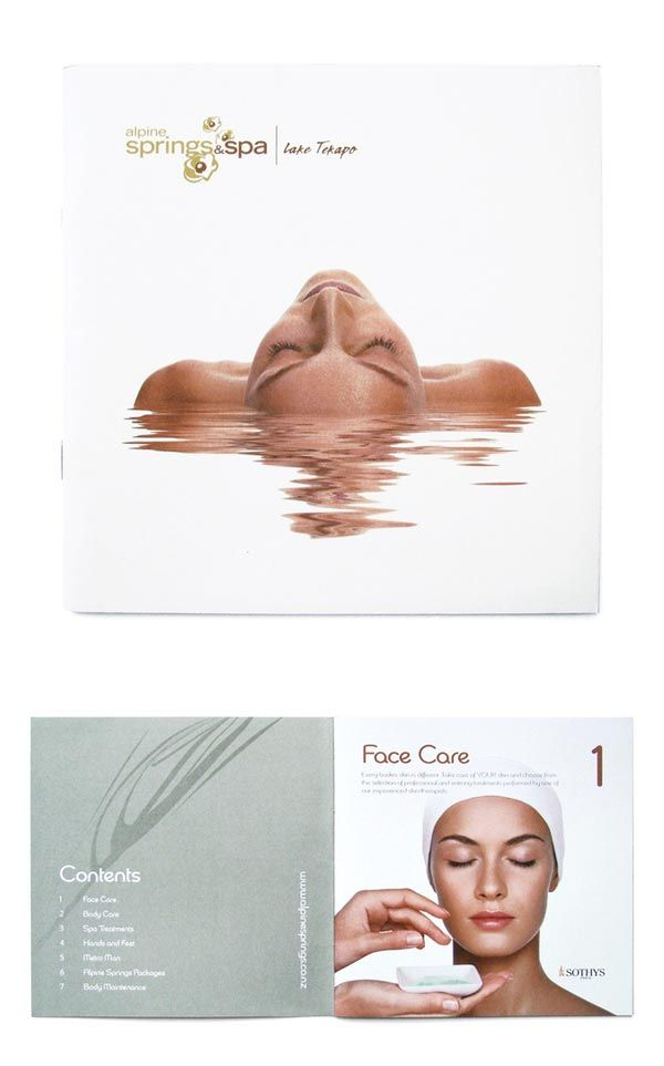 Spa Brochure Design Spa pegs Pinterest Brochure design, Spas - spa brochure