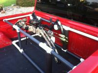 Pvc truck bed bow holder for 2000 Chevy S-10   PVC Truck ...