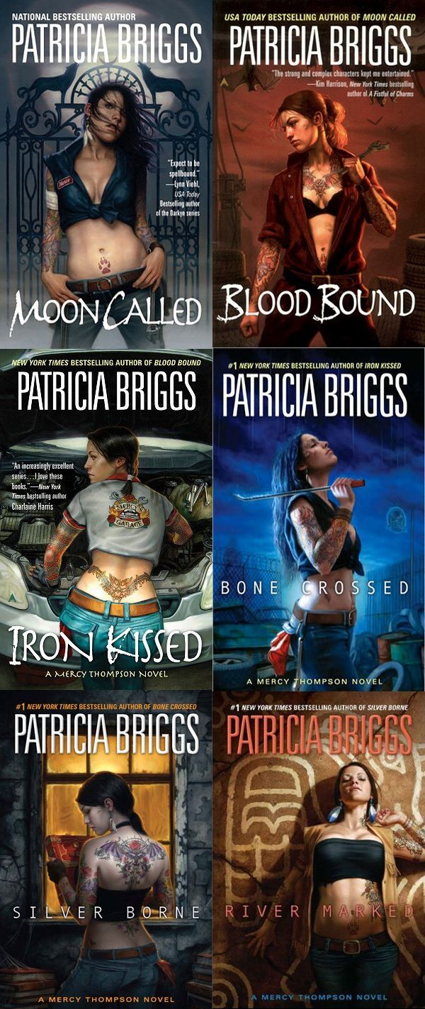 Libros Sobre Hombres Lobo Mercy Thompson Series By Patricia Briggs I D Never Read A Series