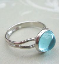 Moon ring from Mako Mermaids, Brielle has the same as this