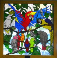 Stained Glass Bird Party | Stained Glass Birds | Pinterest ...