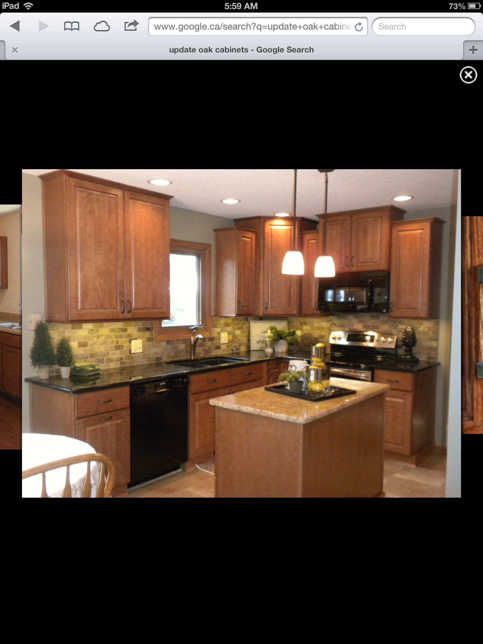 How To Update Laminate Kitchen Cabinets Update Light Oak Cabinets Decorating Pinterest Light