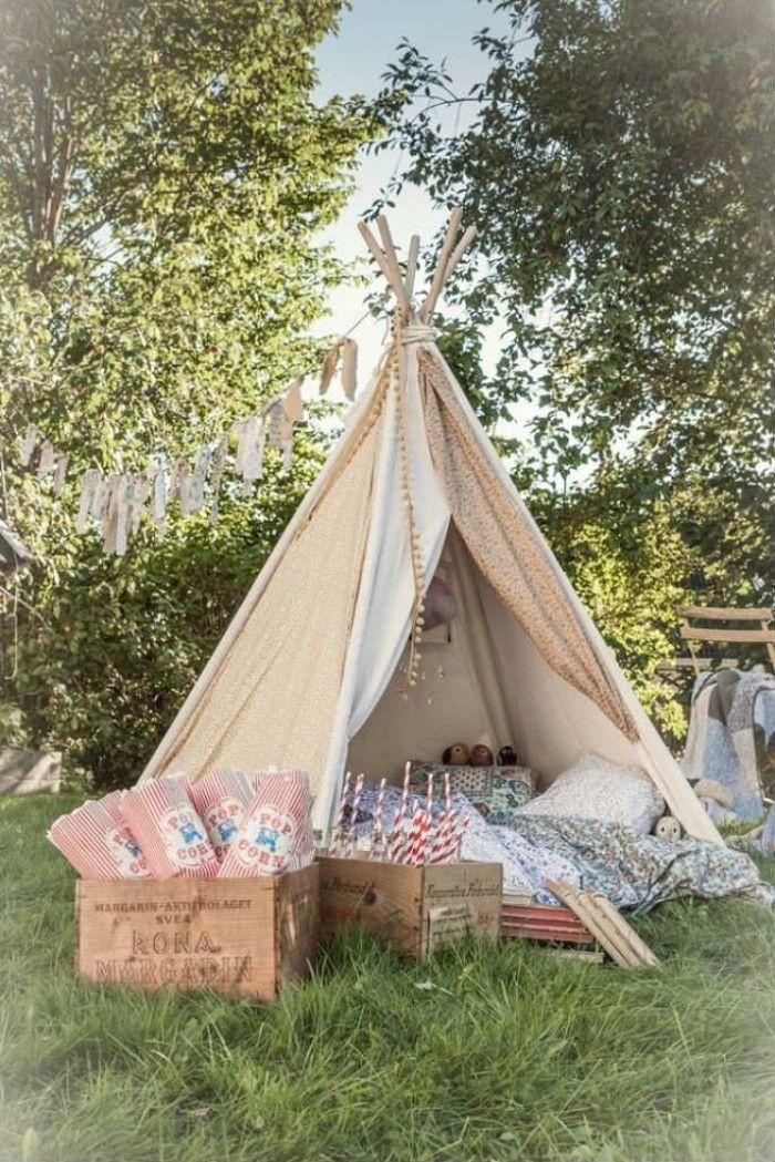 Tolle Idee für ein romantisches Picknick im Garten Auch eine - tolle ideen fur den garten