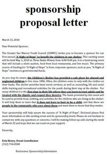 Event Proposals, Event Proposal Template, Event Planning Resume - event proposal letters