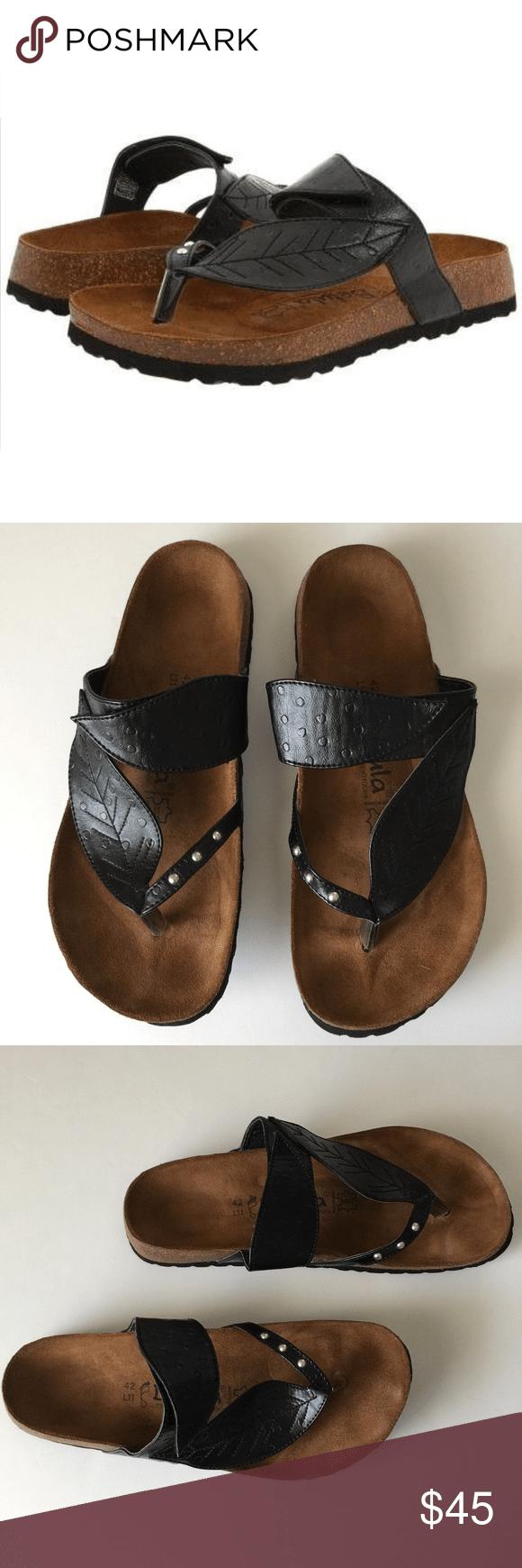 Birkenstock betula black bombay sandals size 11