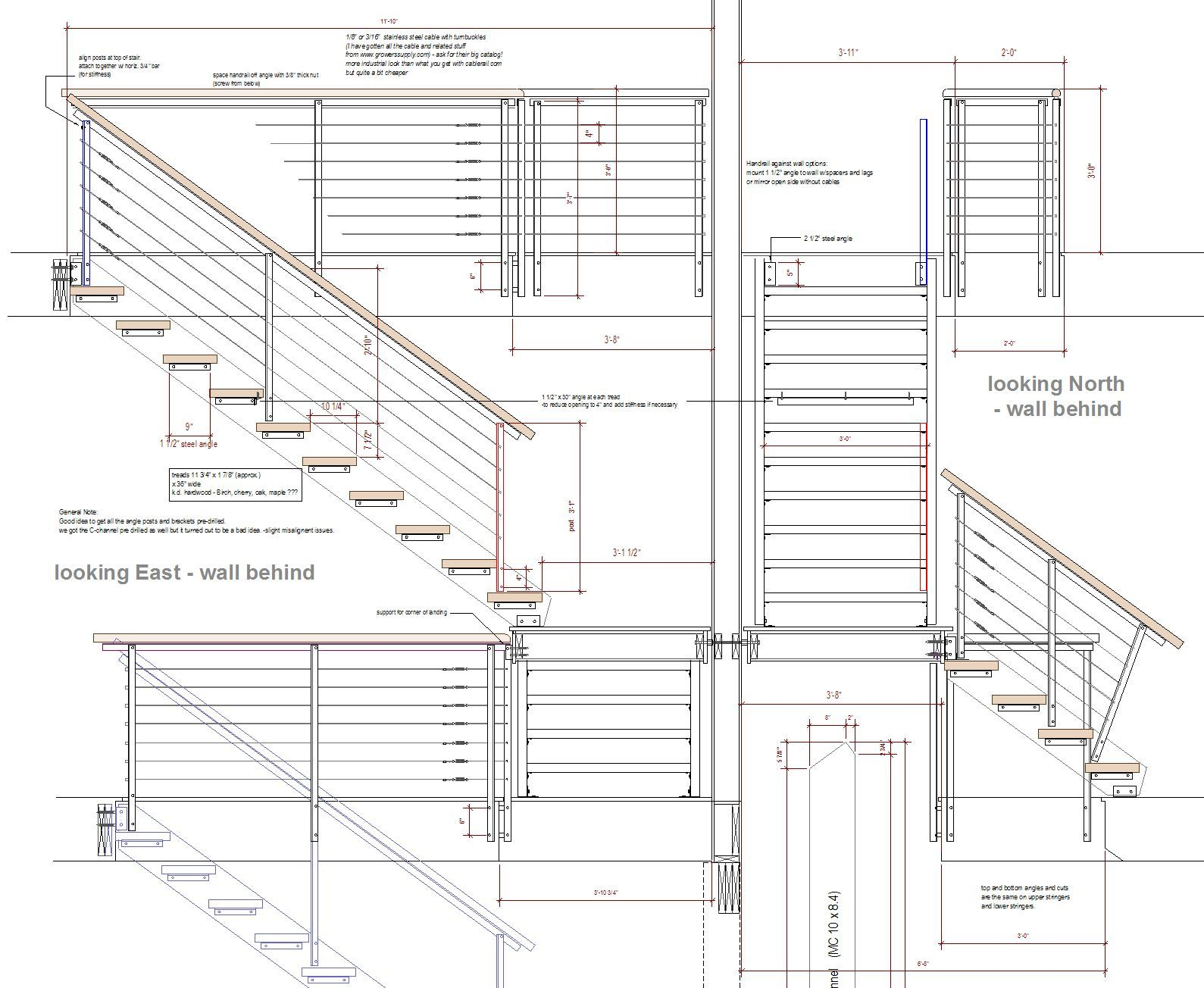 Staircase Plans Drawing Steel Stair Details View Deck Railing Ideas At Http