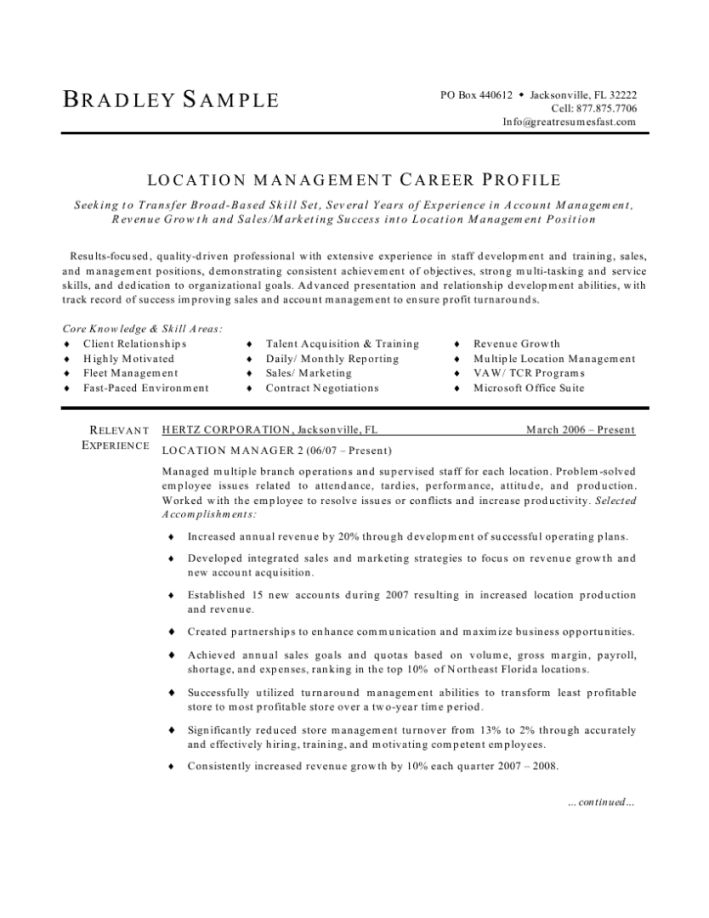 fast food manager resume sample examples restaurant example - fast food resume examples