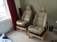 Home made car seat chairs. So comfy | Creative Uses for ...