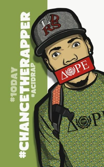 Chance the rapper graphic phone wallpaper for iphone | Chance The Rapper ??..IGH! | Pinterest ...