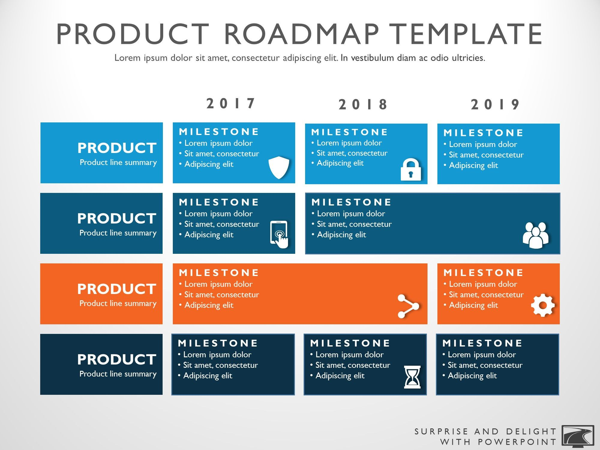 3 year roadmap template pictures good 3 product roadmap template