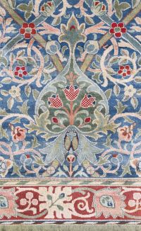 A William Morris 'Hammersmith' Carpet, hand knotted for # ...