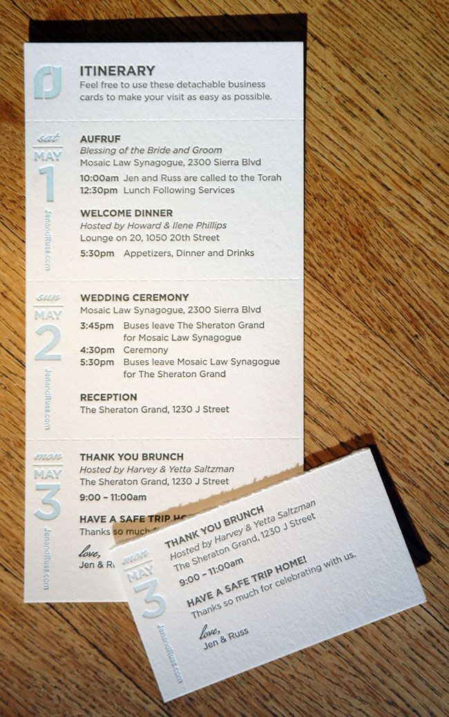 itinerary design template