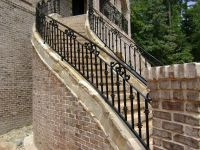 Outdoor Stair Railing Designs