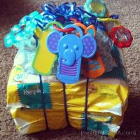 Simple Mom Hacks: Pampers Diaper Tower Baby Shower Gift ...