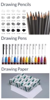 'Most Essential Drawing Tools Professional Artists Use ...