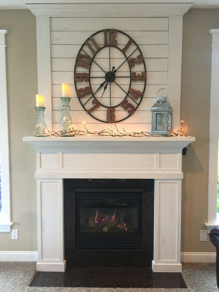 Fixer Upper Joanna Gaines Inspired Fireplace Mantle