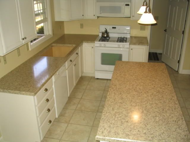 Wilsonart Carrera Marble Laminate Countertops | White Kitchens