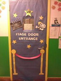 Hollywood themed classroom door   My Work!   Pinterest ...