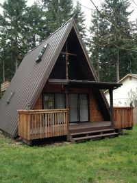 Metal Roofs In The Puget Sound | Cabin Inspiration ...