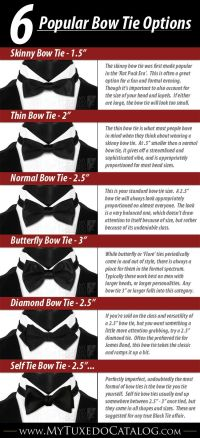 Different Bow Tie Styles | www.pixshark.com - Images ...