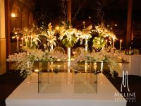 Glass sweetheart table | The Sweetheart Table