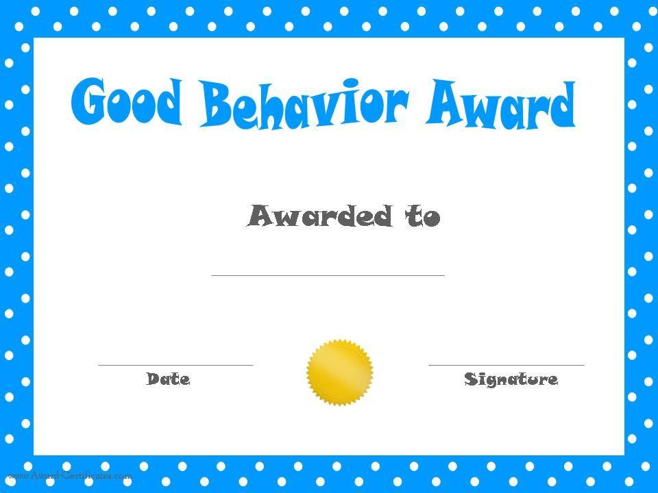 Printable Kids Award Certificate Templates *Printable - free printable editable certificates