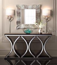 Unique Modern sofa tv console table,accent table | Brown ...