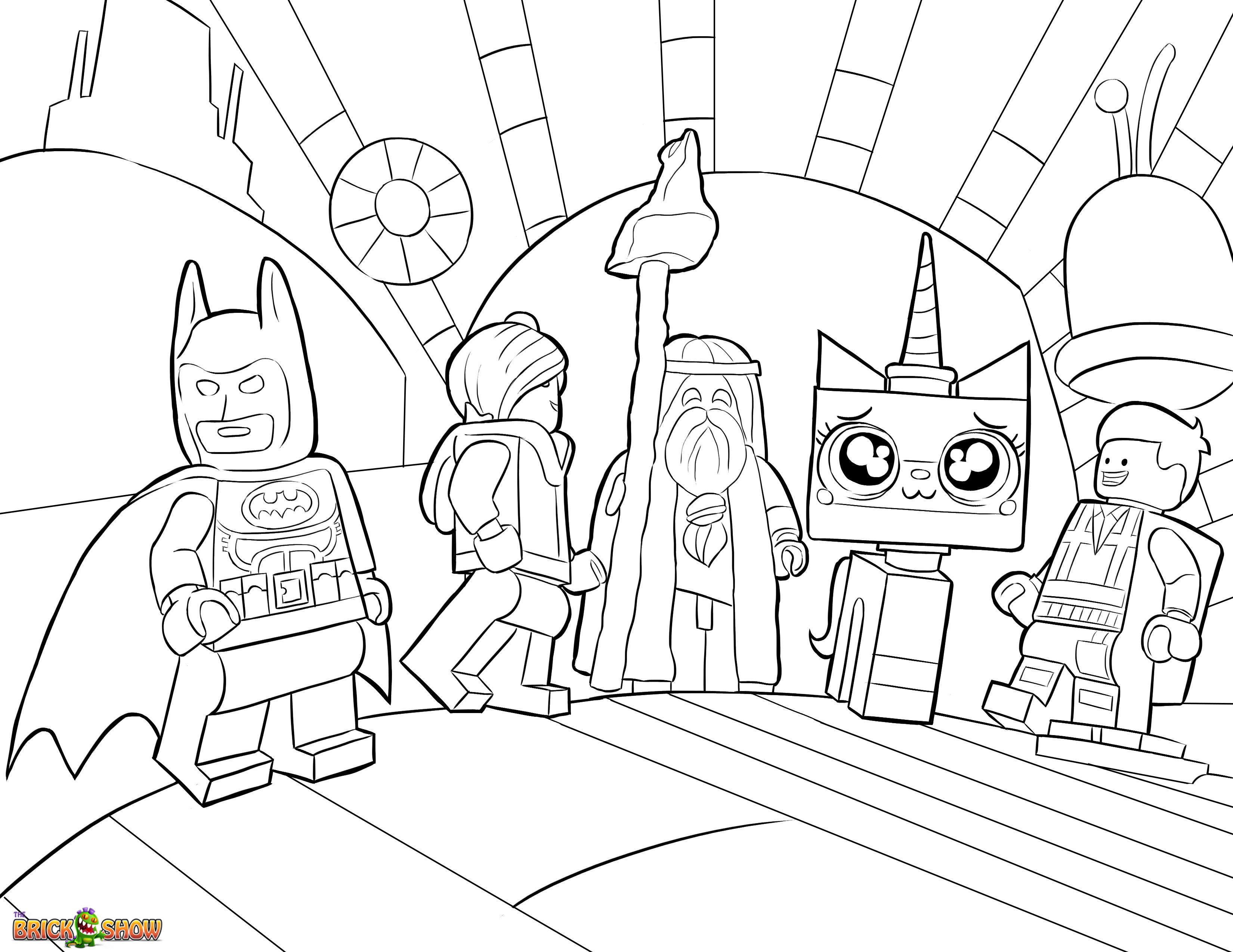 Princess unikitty coloring pages - Princess Unikitty Coloring Pages 2