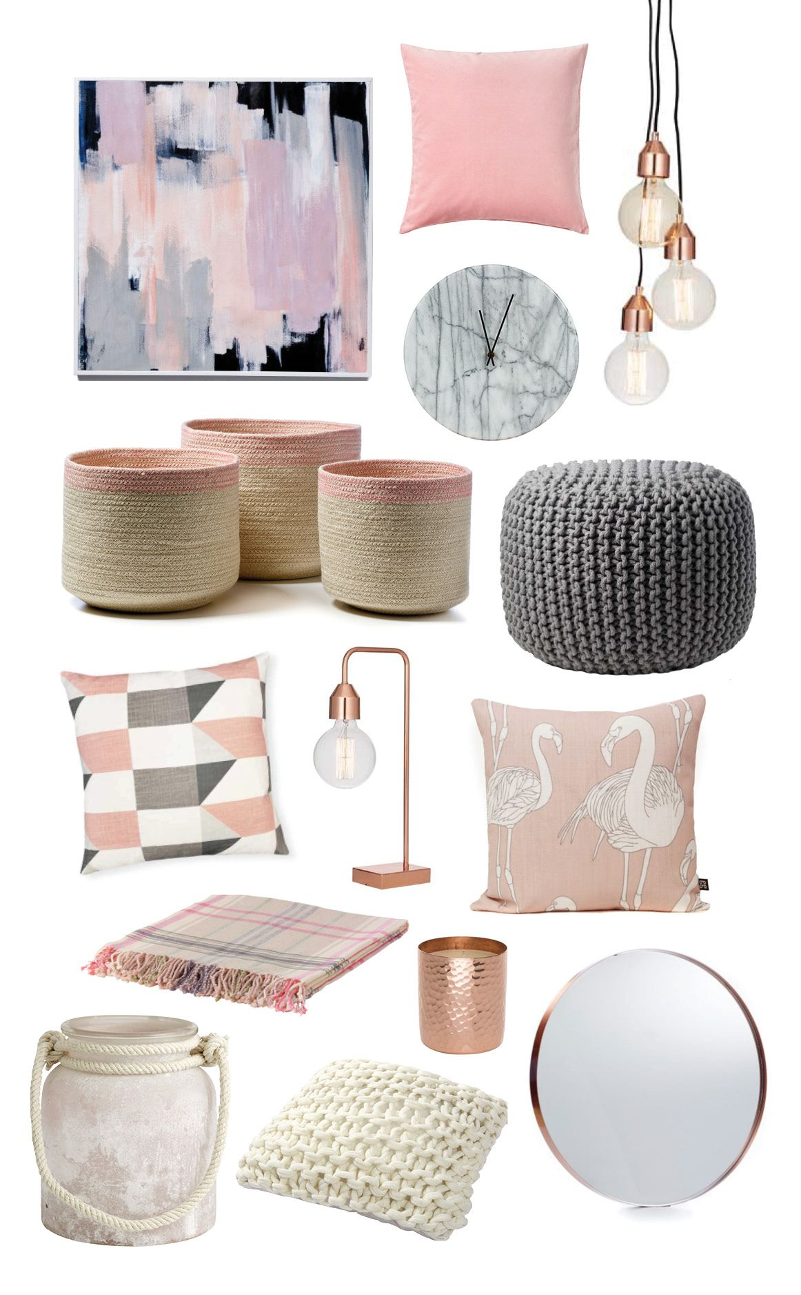Room Decor Accessories Trending Items Blush Pink Click Through For Stockists