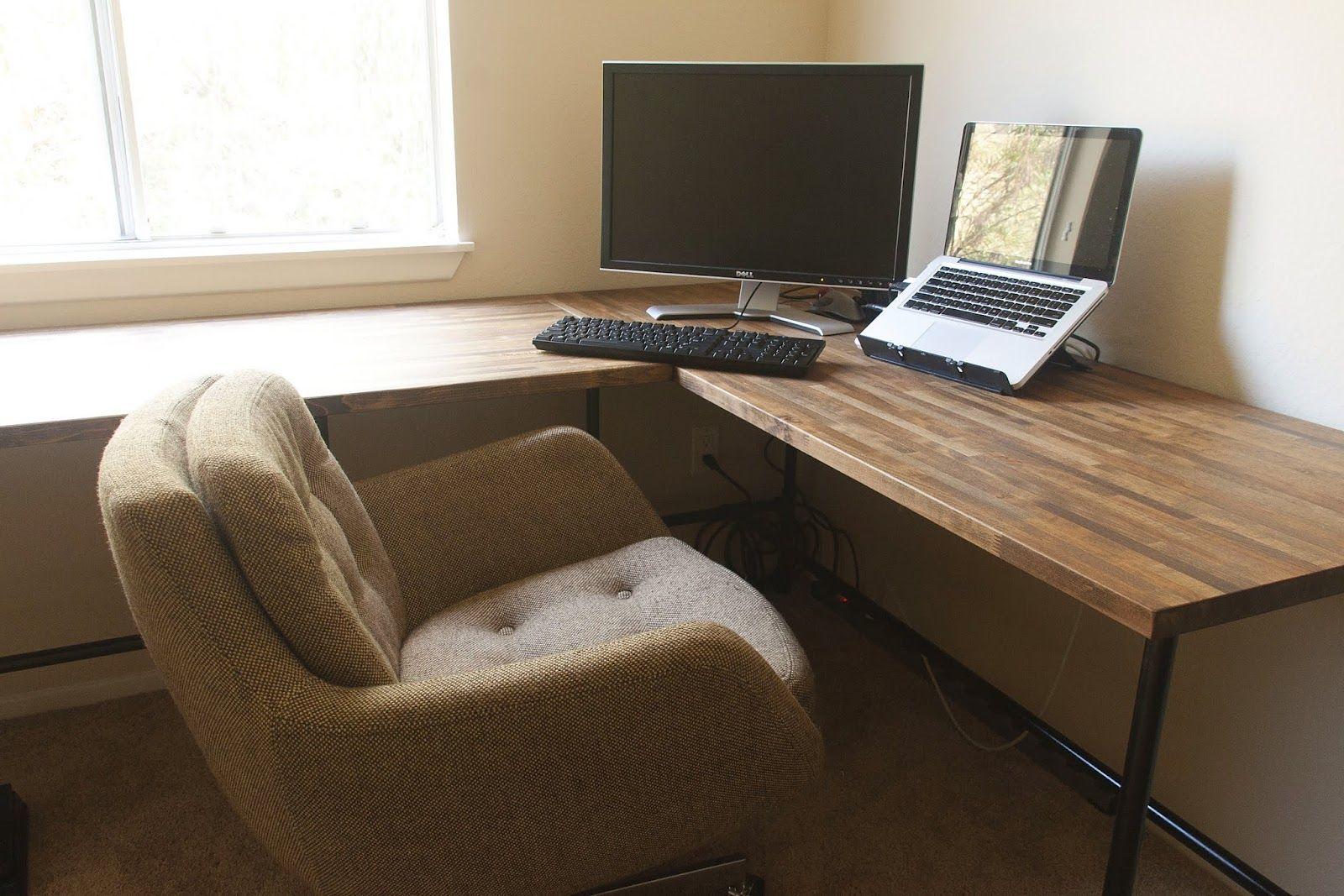 10 innovative diy office desk design ideas awesome lshaped corner nature wood home plans i