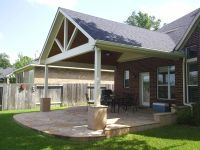 We construct and build patio roof extensions to blend in ...