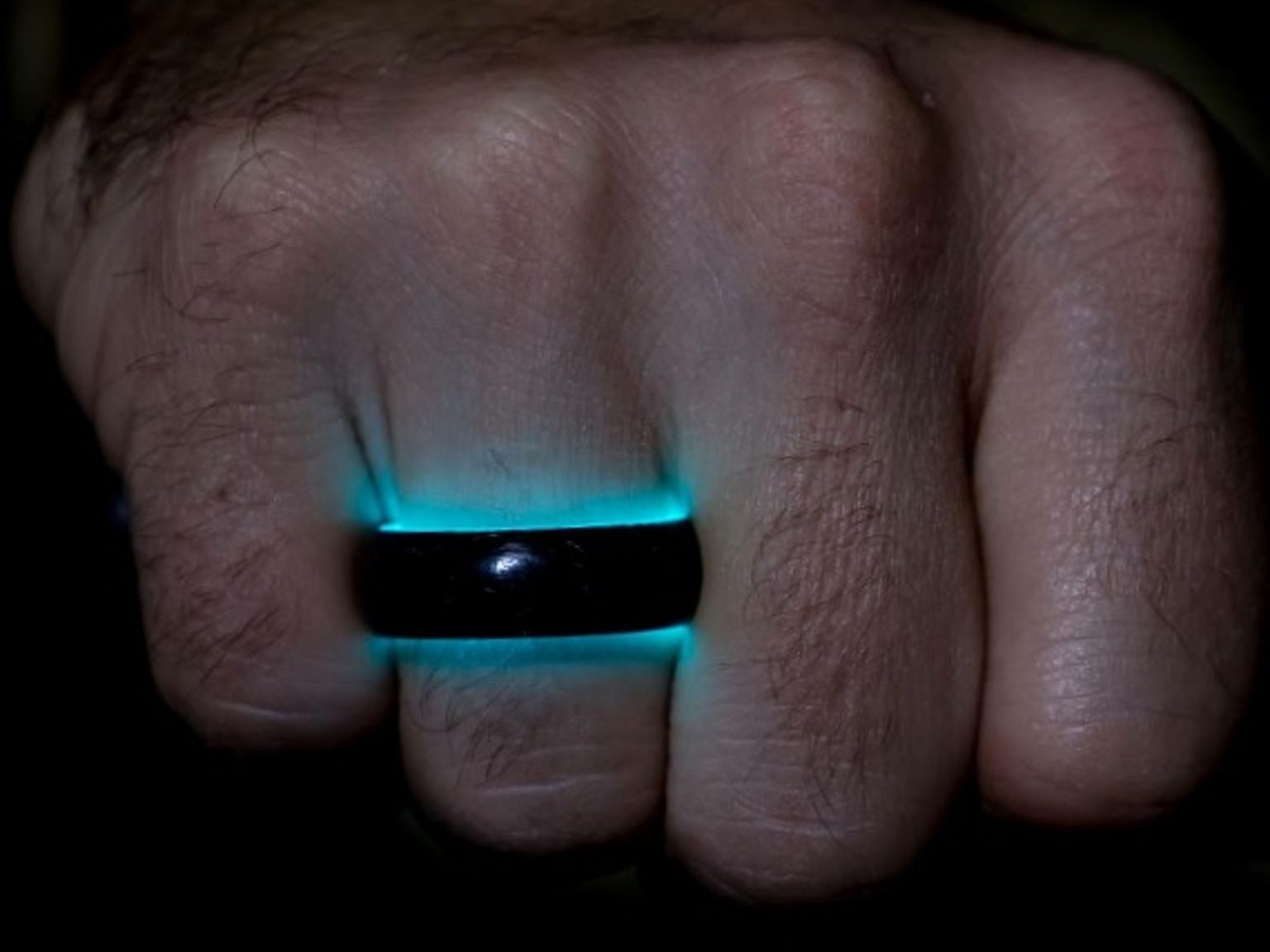 carbon fiber wedding bands Lume Ring Turquoise Carbon 6Carbon FiberGroom RingMen Wedding