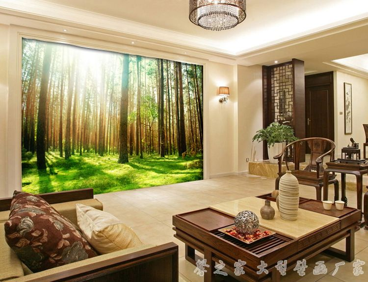Best 3D three dimensional living room wallpaper ideas and designs - 3d wallpaper for living room