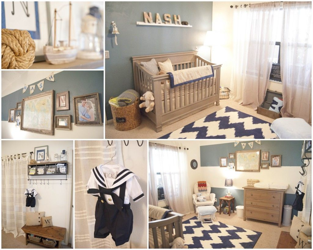 Baby nash s vintage nautical nursery