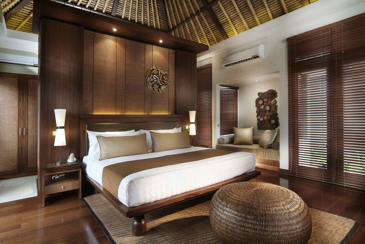 Bali Style Bedroom Balinese Interior Design Theme Home Pinterest