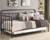 300398 Dark Bronze Metal Daybed with Trundle | Aspen's ...