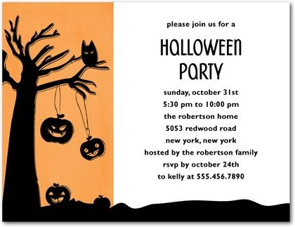Party Halloween Party Invitation Wording As Your Ideas Amplifyer - halloween invitation template