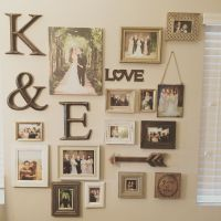 My gallery wall of wedding photos | Photo Collage Ideas ...