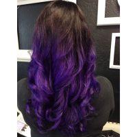 Purple ombr. Using Pravana Vivids; violet. | Personal ...